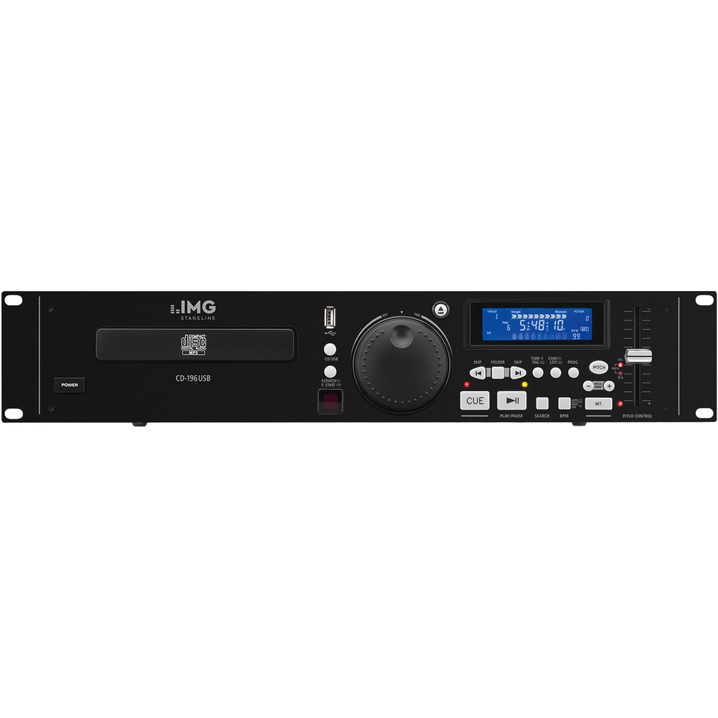 IMG Stageline CD-196USB