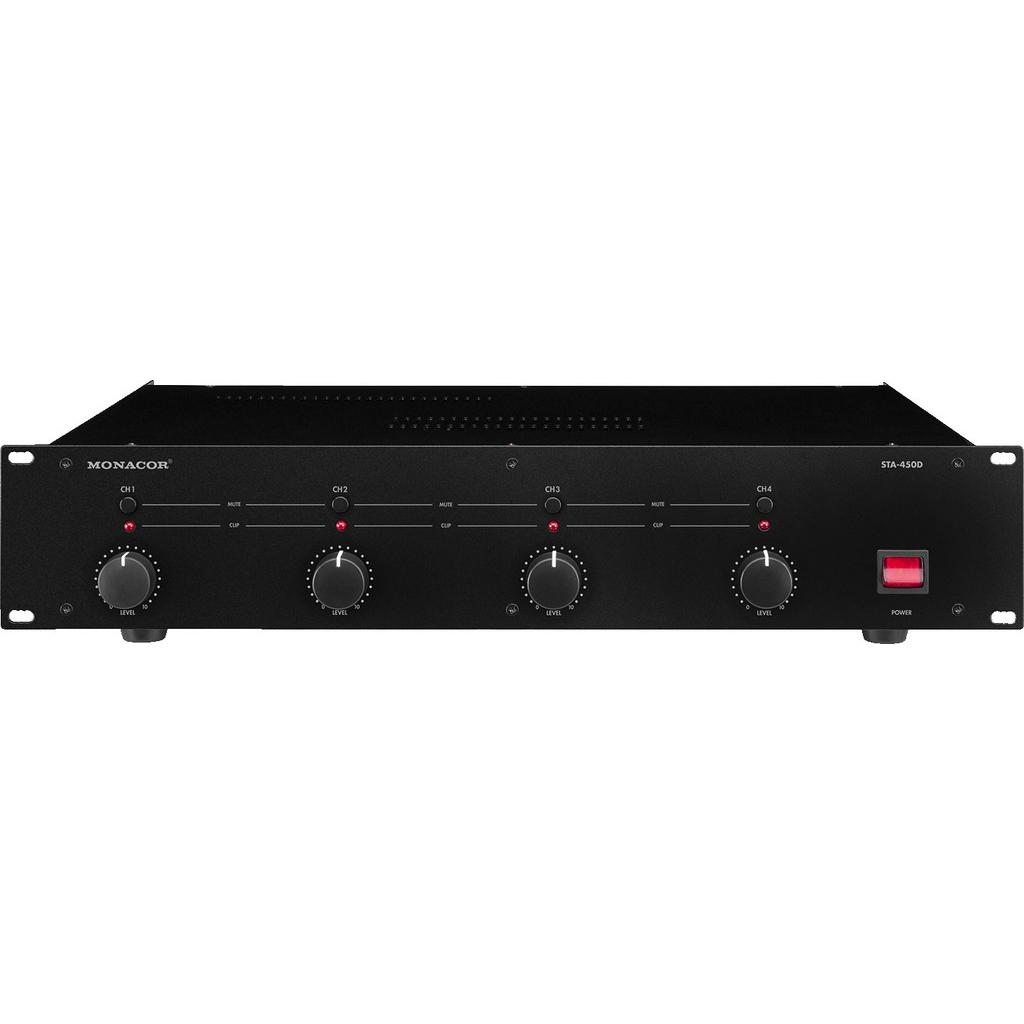 Трансляционный микшерный усилитель Monacor STA-450D