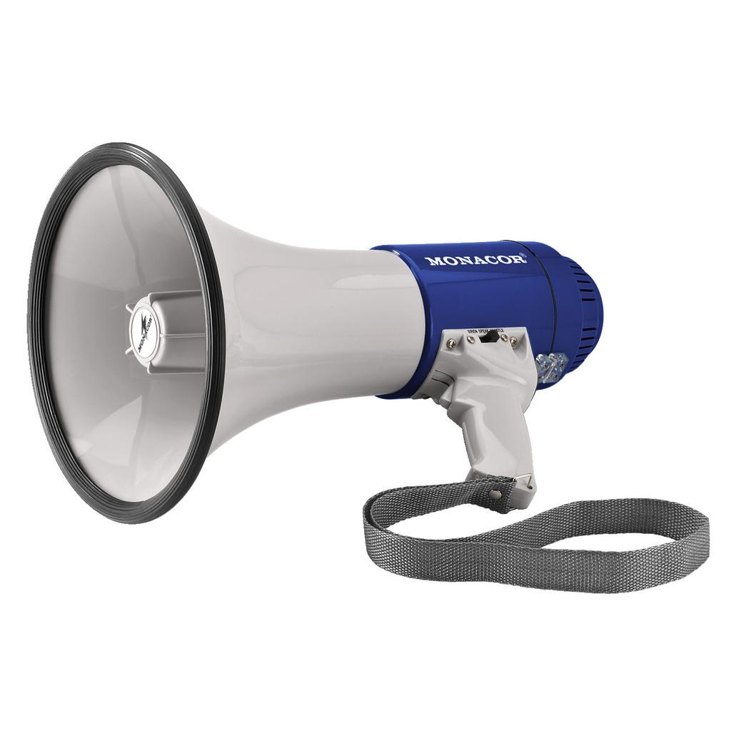 Рупорный ручной громкоговоритель (мегафон) Monacor TM-15