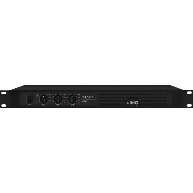 Цифровой трехканальный усилитель IMG Stageline STA-553D